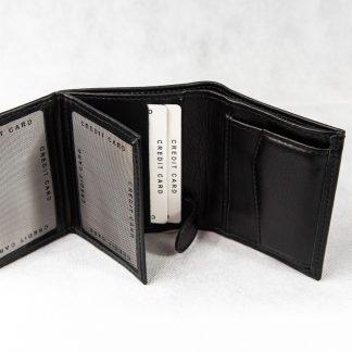 Crni novčanik N403