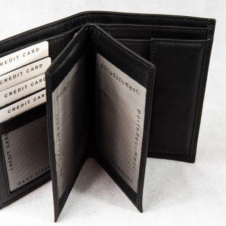 Crni novčanik N405
