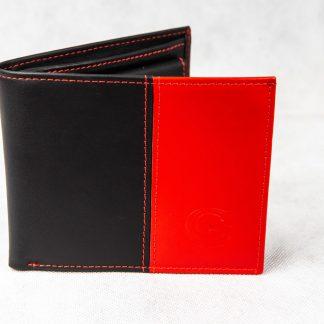 Crveno-crni novčanik 104D