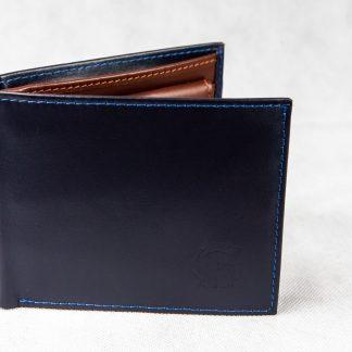 Plavo-smeđi novčanik 104