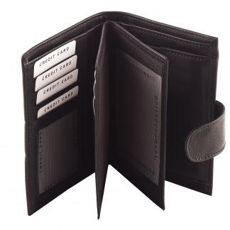 Crni novčanik N406