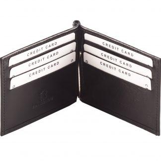 Crni novčanik N301