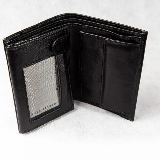 Crni novčanik N404