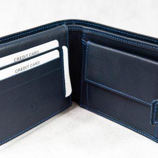 Tamnoplavi novčanik 114